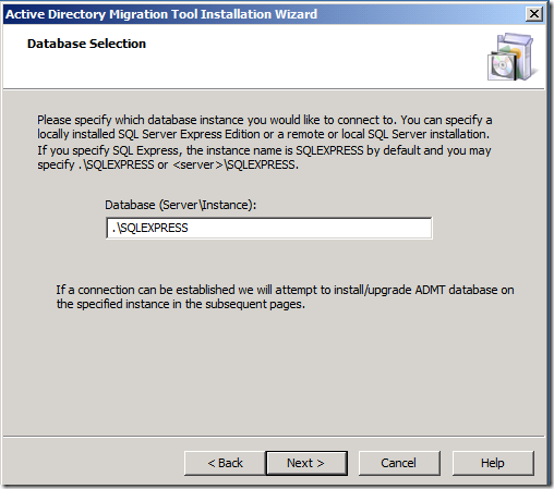 How to install ADMT 3 2 in Windows Server 2008 R2