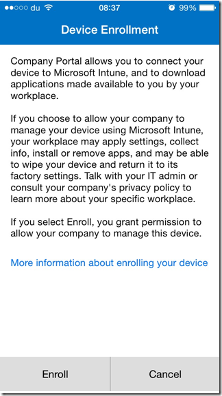Windows Intune with Exchange and Office 365 – Part 1