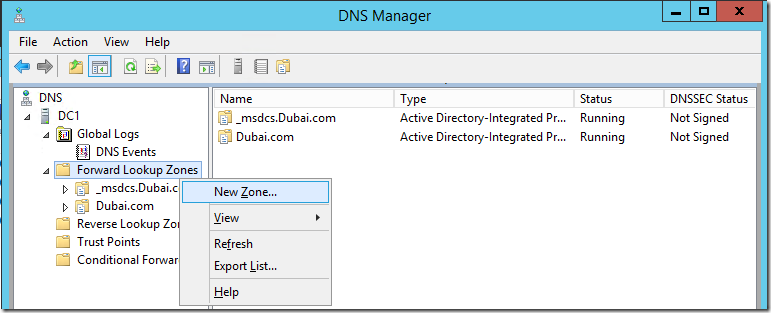 Pin Point DNS for your non-internet facing exchange server