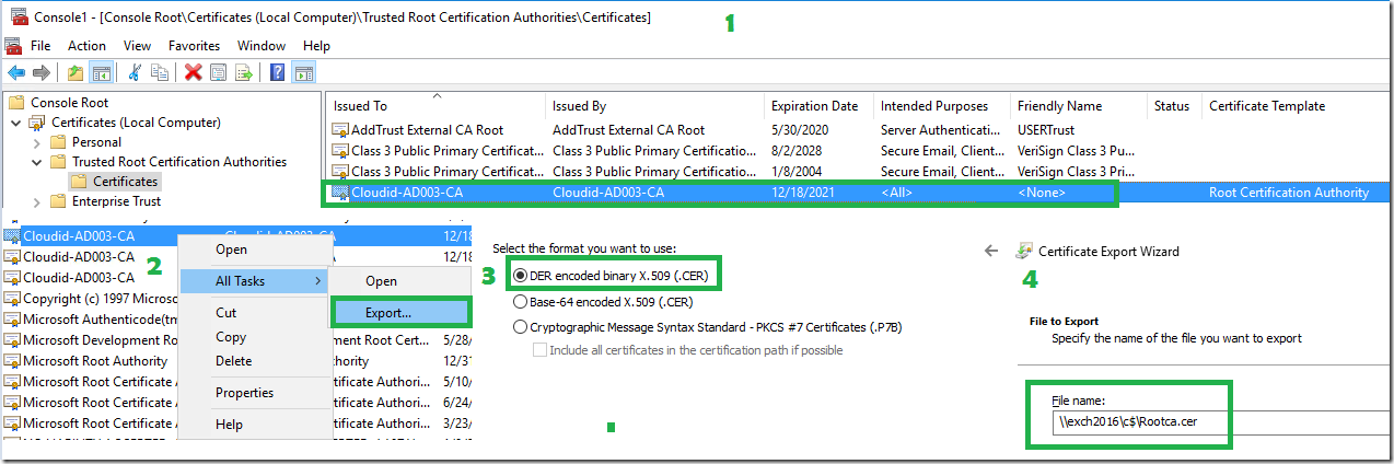 Install and Configure Certificate Authority in Windows