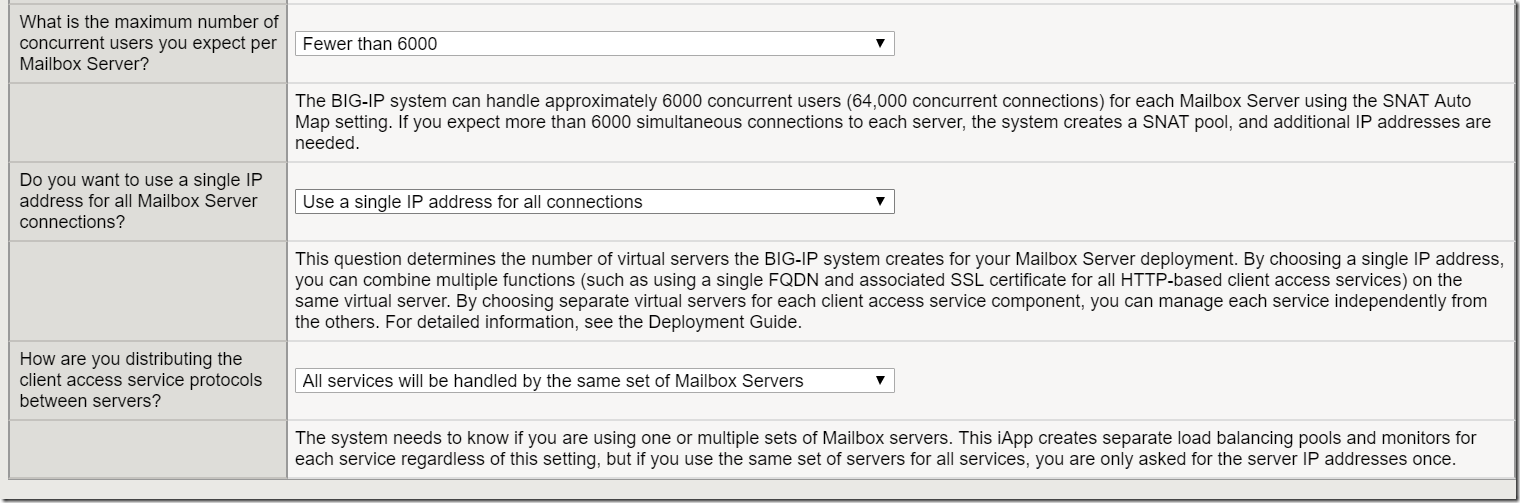 Configure F5 Local Traffic Manager on Exchange server 2016