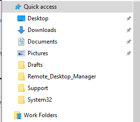Work Folders Failed to create a user folder for a sync share